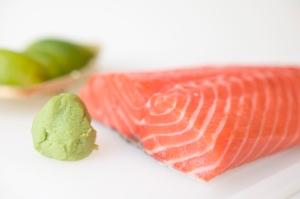 salmon and wasabi fish omega 3 fatty acids
