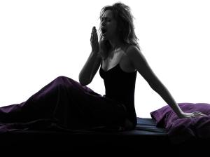 young woman insomnia sleep