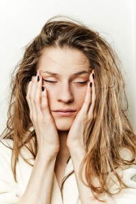tired woman fatigue