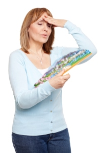 menopause woman sweats hot flashes
