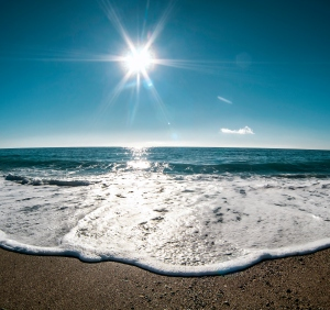 beach sun summer ocean sea